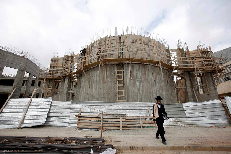 Israele approva progetto per la costruzione di 800 nuove unità coloniali