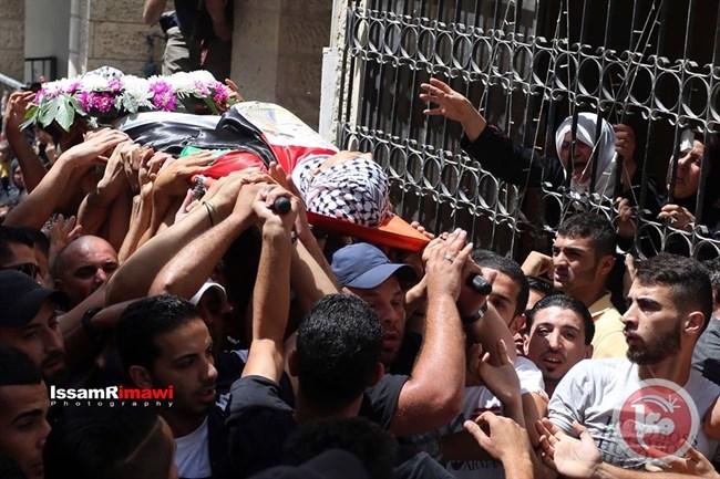 14 Palestinesi feriti al funerale dell'adolescente Abu Latifa