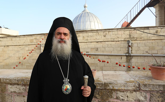 """L'ISIS minaccia i Cristiani di Gerusalemme"""". Il vescovo Hanna: resteremo in Palestina insieme ai nostri fratelli musulmani"""