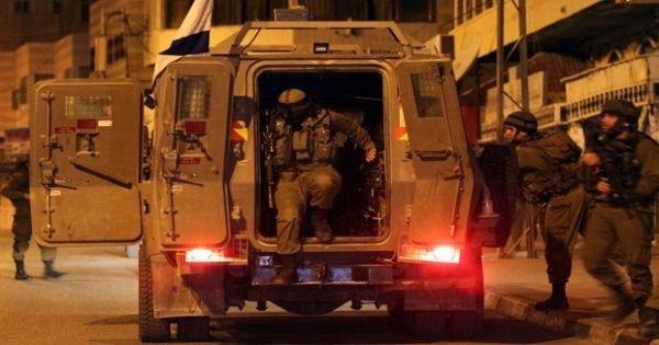 Invasione di militari israeliani in provincia di Jenin