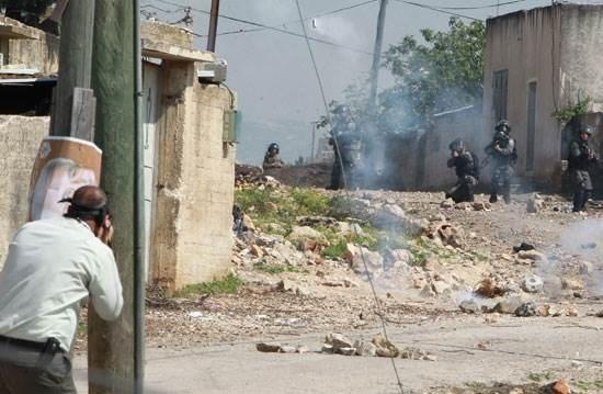 Soldati israeliani invadono la cittadina archeologica di Arabah