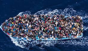 Il mar Mediterraneo, un grande cimitero di migranti