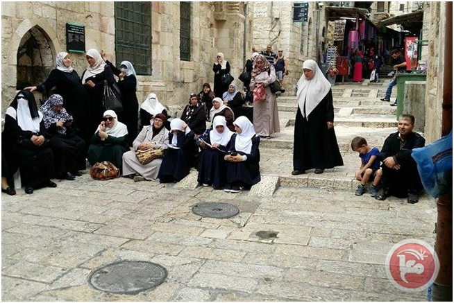 Israele ha vietato a 40 donne gerosolimitane di entrare a al-Aqsa