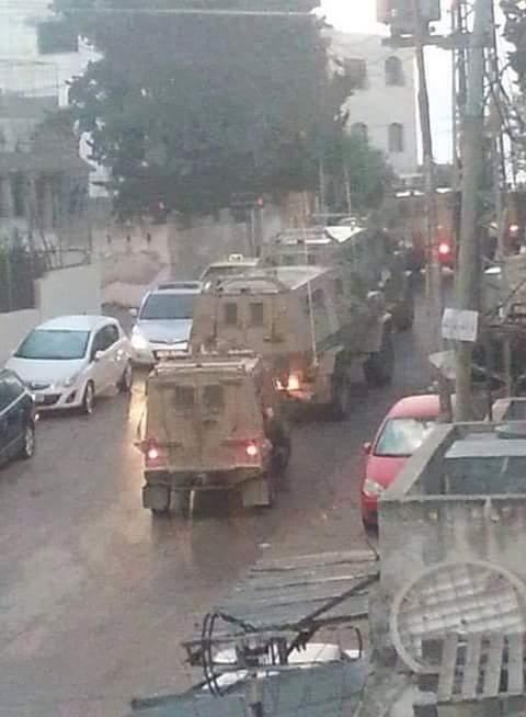 Nablus nel mirino delle forze israeliane: feriti e arresti