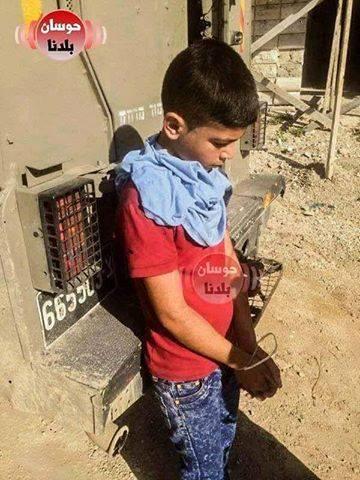 Soldati israeliani rapiscono bambino palestinese di 10 anni