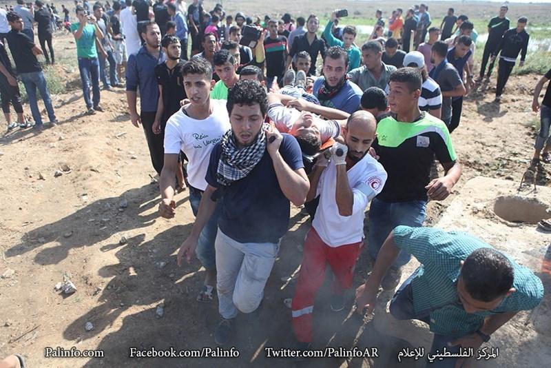 Striscia di Gaza, 34 giovani feriti dalle forze israeliane