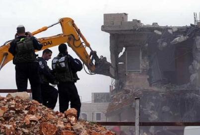 478 strutture palestinesi distrutte da Israele nel 2015