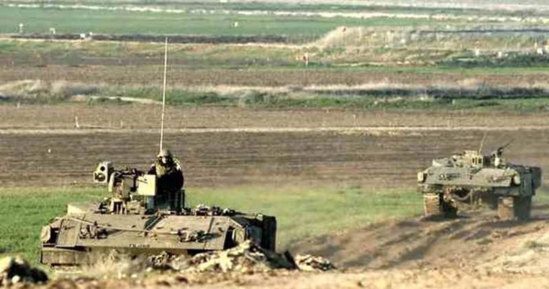 Aggressioni israeliane di terra e mare contro la Striscia di Gaza