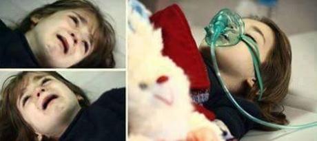 Bambina di 10 anni vittima dell'assedio israelo-egiziano su Gaza
