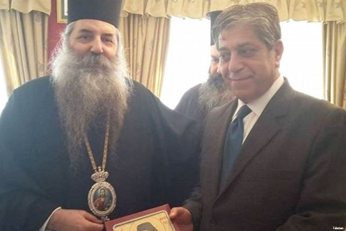 marwan-toubassi-with-metropolitan-seraphim-of-piraeus-bishop-of-greece