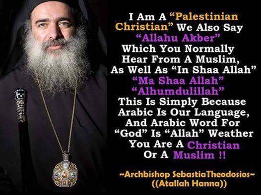 Hanna: Musulmani e Cristiani usano le stesse parole per invocare Dio