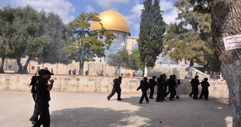 Gerusalemme, scontri a al-Aqsa tra forze di occupazione e fedeli musulmani. 36 giovani arrestati