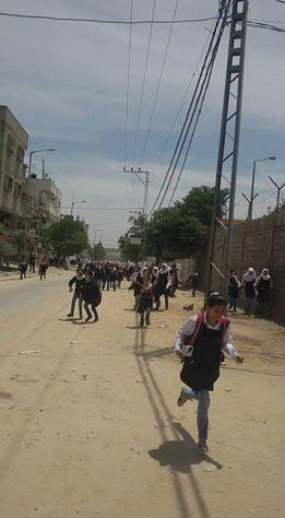 Bombardamento israeliano contro il sud della Striscia di Gaza