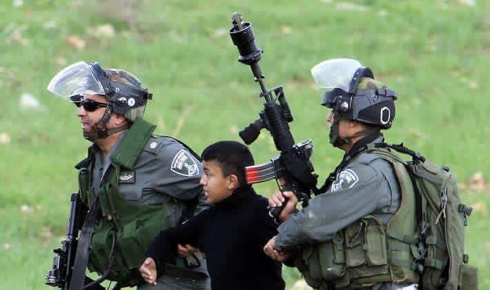 Bambino palestinese in carcere per un altro anno