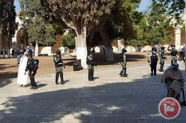 Per il 2° giorno consecutivo le forze israeliane invadono al-Aqsa