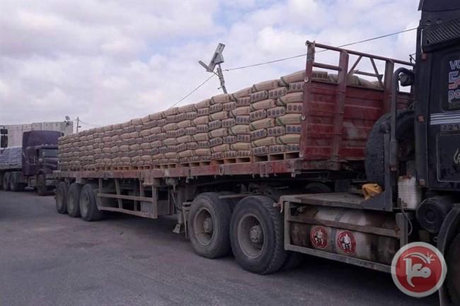 Israele permette l'entrata di cemento nella Striscia di Gaza