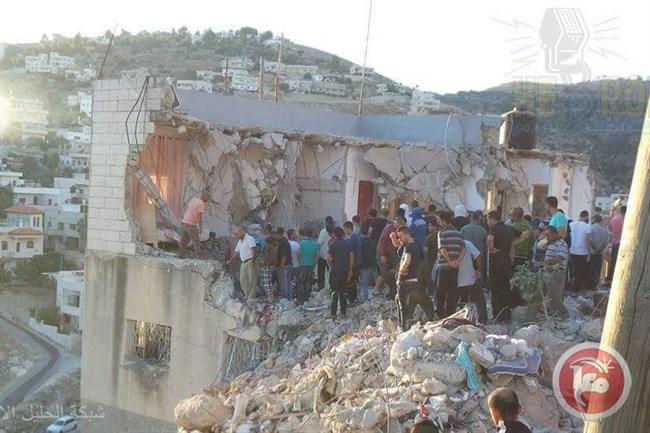 Palestinese accusato di un attacco ucciso nel bombardamento della propria casa