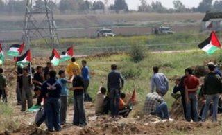 I soldati israeliani feriscono 4 Palestinesi a Gaza