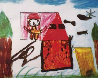 Disegni da Gaza in mostra