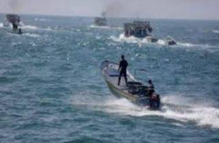 Fuoco della marina israeliana sui pescatori di Gaza