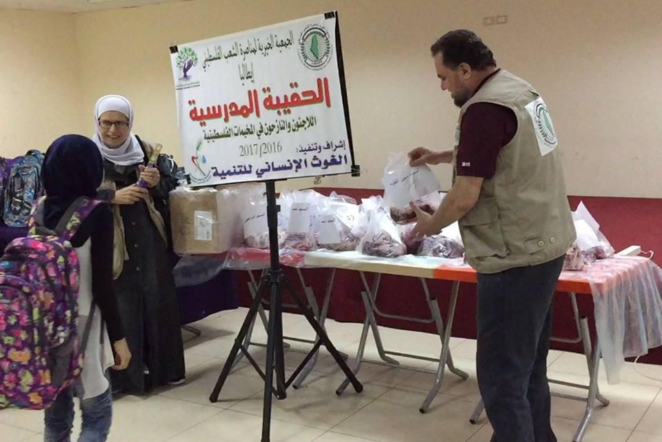 Missione umanitaria in Libano a sostegno del diritto allo studio dei profughi