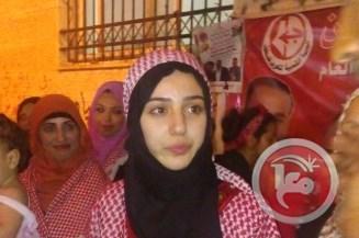 La popolazione festeggia a Betlemme il rilascio di una donna palestinese dal carcere israeliano