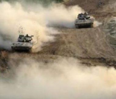 Le forze di occupazione invadono aree agricole gazawi