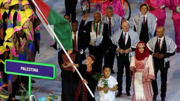 La più grande squadra palestinese a Rio per le Olimpiadi