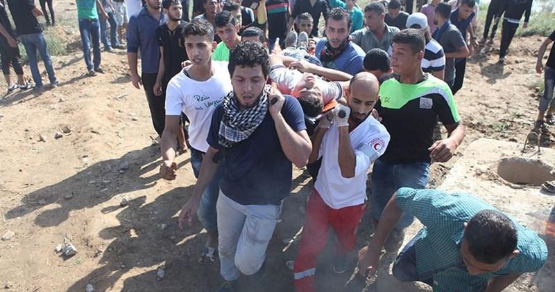 Striscia di Gaza, quattro giovani feriti dai soldati israeliani