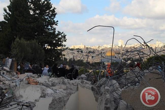 Le autorità israeliane proseguono l'ondata di demolizione in tutto il territorio occupato