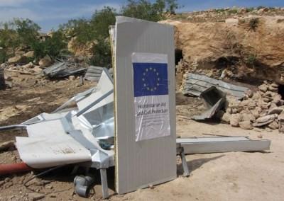 B'Tselem: Israele ha distrutto 203 case palestinesi nel primo semestre 2016