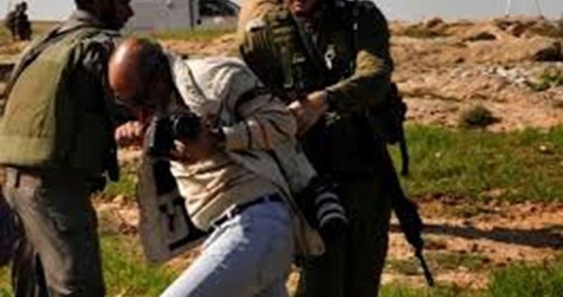 40 violazioni israeliane contro i giornalisti palestinesi a settembre