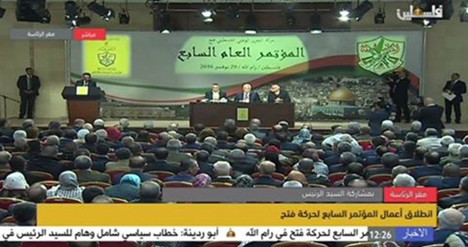 Abbas rieletto presidente di Fatah