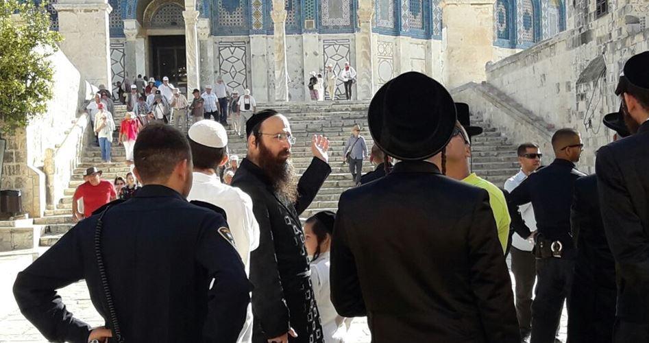 36 coloni invadono al-Aqsa