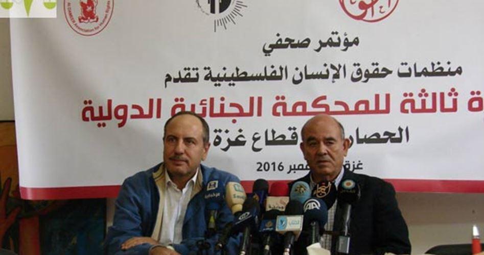 L'assedio di Gaza presentato alla Corte Penale Internazionale