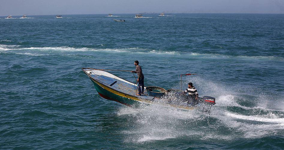 La marina israeliana spara contro i pescatori di Gaza