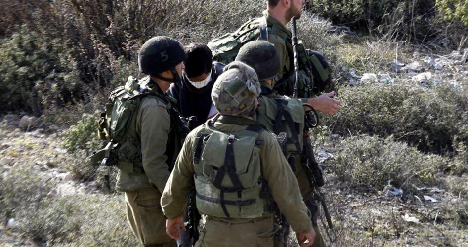 Tre bambini tra i Palestinesi arrestati dai soldati di occupazione