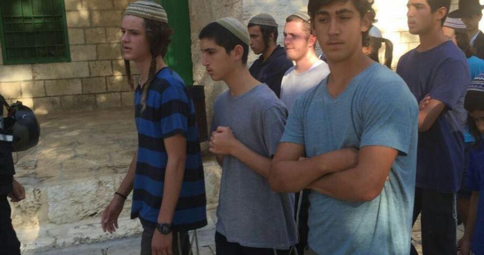 1.346 Israeliani hanno invaso al-Aqsa a novembre