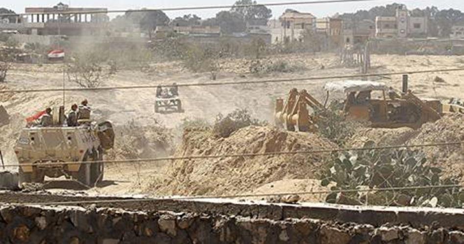 L'Egitto ha distrutto 12 tunnel di Gaza