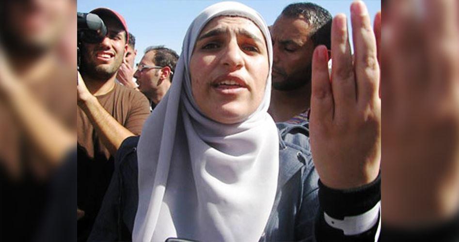 Donna palestinese in sciopero della fame per protestare contro il suo isolamento in carcere
