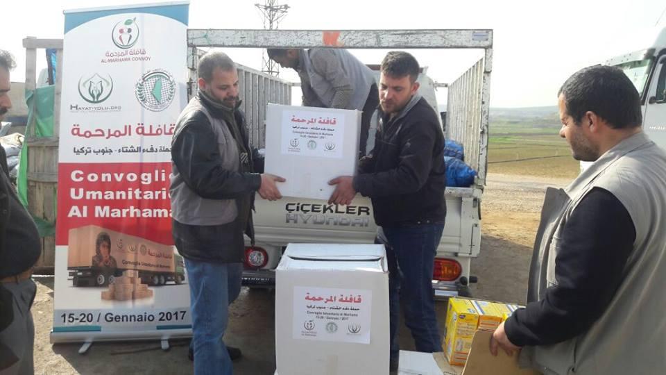 Si è conclusa la missione di al-Marhama tra i campi profughi in Turchia