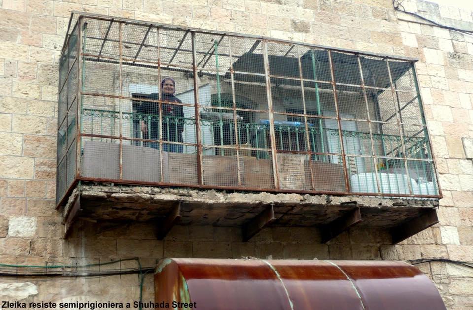 La resistenza di nonna Zleika all'inciviltà israeliana