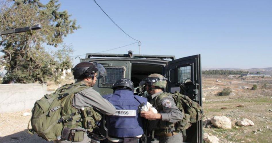 41 violazioni israeliane contro giornalisti nel mese di gennaio