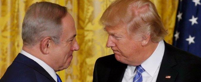 """Usa, Trump a Netanyahu: """"Soluzione dei 2 Stati? Conta solo pace in Medio Oriente. Dall'Onu azioni ingiuste contro Israele"""""""