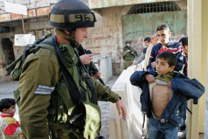 Bambini di Palestina processati dal tribunale militare di Israele