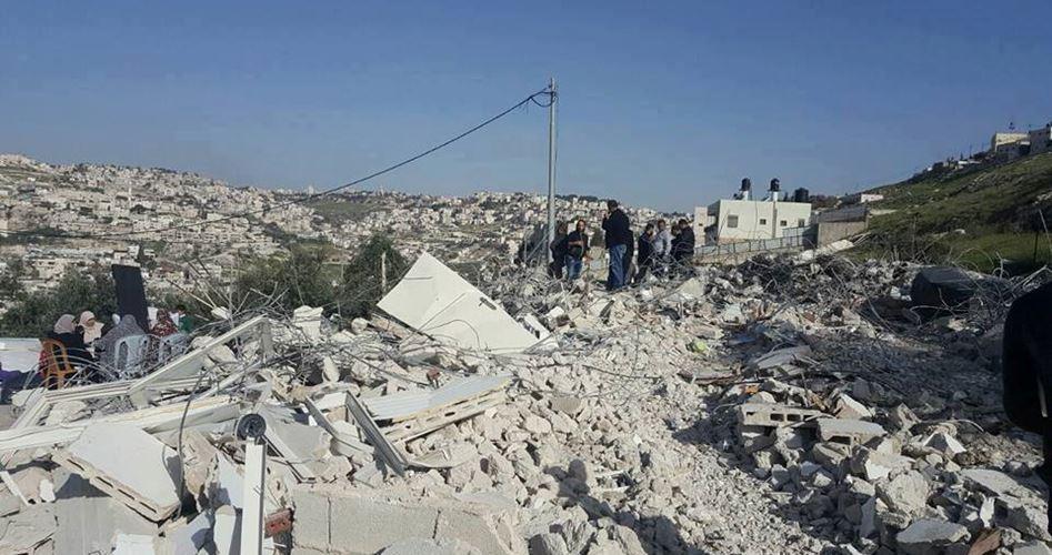 Proteste a al-Issawiya contro la demolizione di case palestinesi