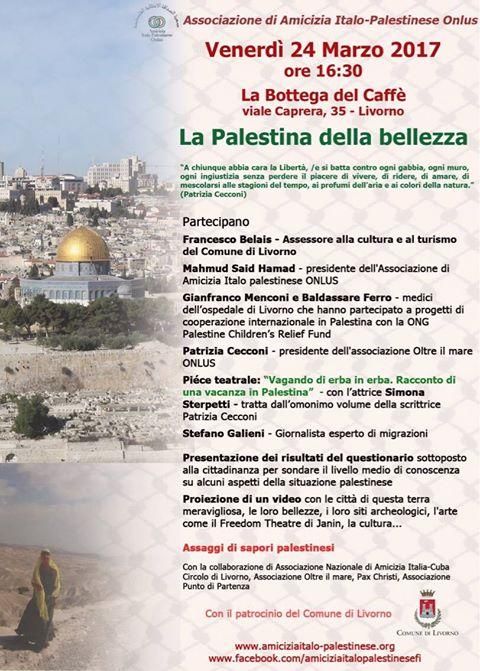La Palestina della bellezza