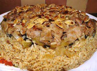 La maqluba, antico piatto mediorentale