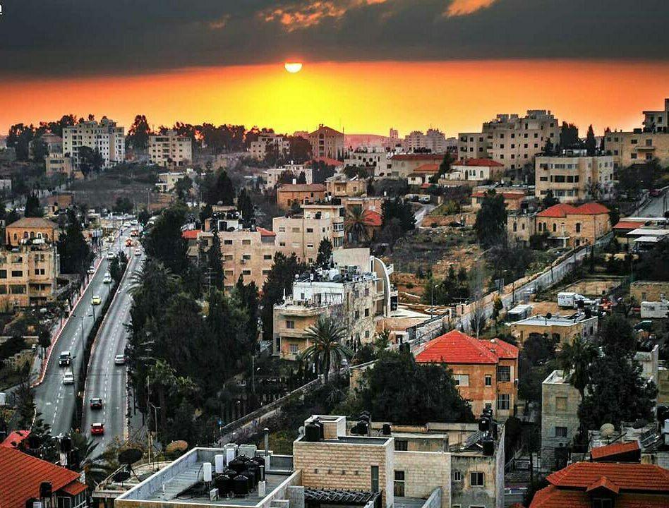Ramallah, sede del parlamento palestinese e di molte attività