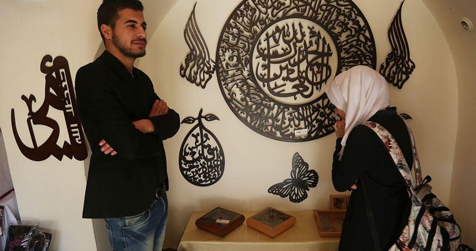 Mostra manifatturiera aperta a Gaza dal Ministero della Cultura